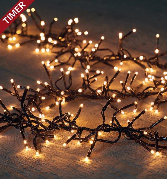 bol.com | CBD clusterverlichting 768 LED - 4,5 m Classic warm