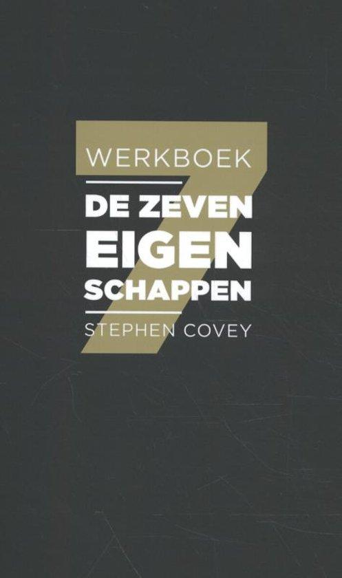 Boek cover De zeven eigenschappen van Stephen Covey (Paperback)