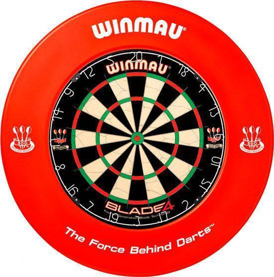 Winmau Dartbord Surround Ring - Rood