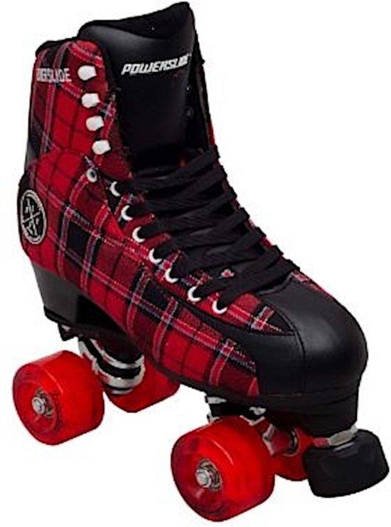 Powerslide Rolschaatsen Elegance Royal Zwart/roodmaat 40