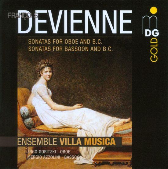 Sonatas For Oboe, Bassoon & Bc