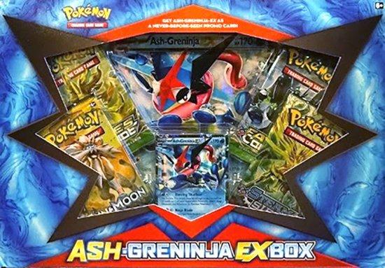 Afbeelding van het spel Pokemon Kaarten TCG - Ash-Greninja EX Box