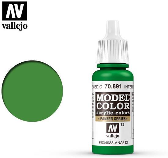 VALLEJO Model Color Interm. Green
