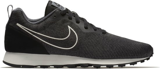Nike Md Runner 2 Chaussures De Sport De Maille Peur Chaussures Hommes - Taille 44 - Hommes - Gris / Noir / Blanc F2kVS
