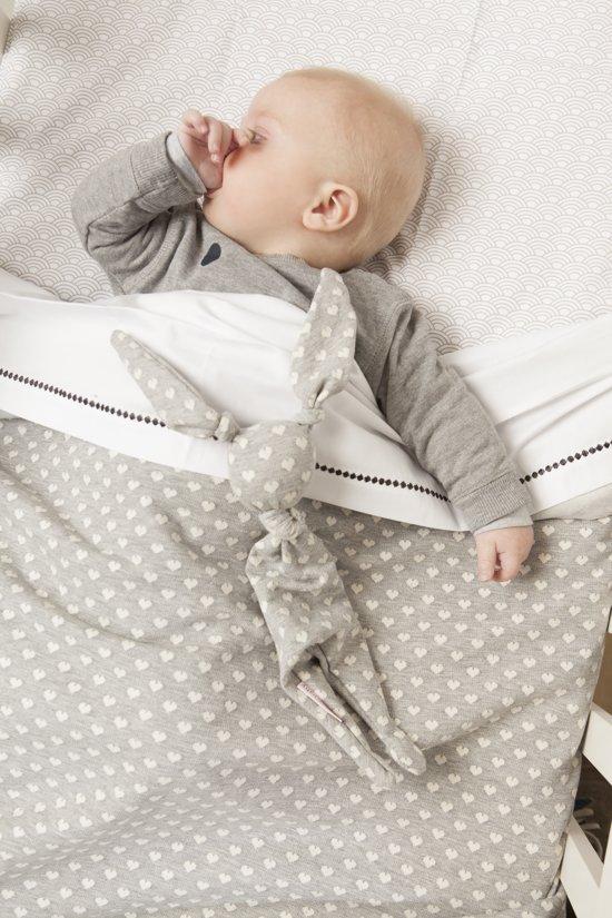 Cottonbaby Ledikantdeken 120x150 cm - LichtGrijs