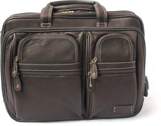 Hendel87801 Colombian Laptop Cortez Dubbele Leather Met Businesstas Bn 8nmOvN0wPy