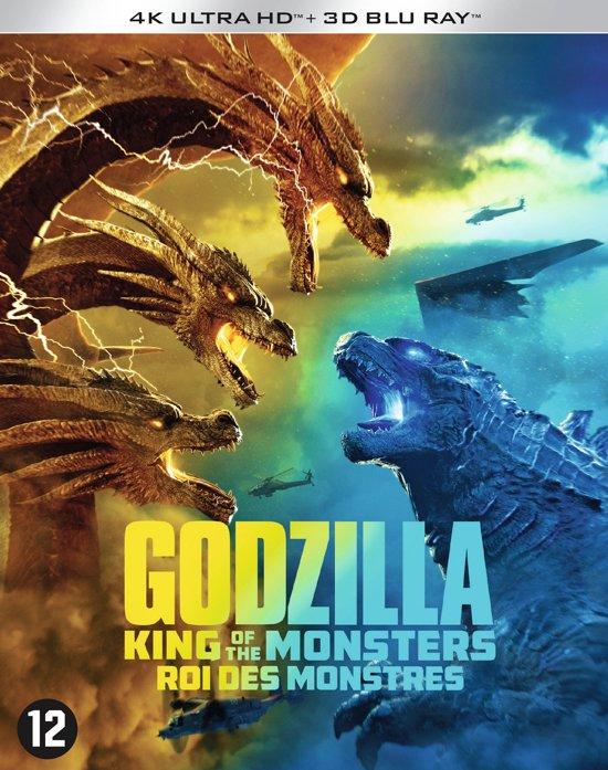 DVD cover van Godzilla: King of the Monsters (3D + 4K Ultra HD Blu-ray)