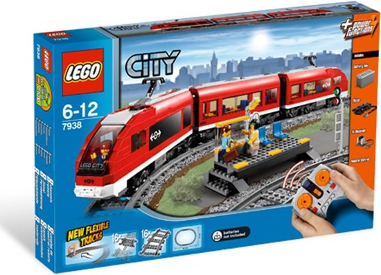 LEGO City Passagierstrein - 7938
