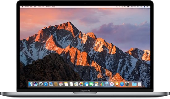 Apple MacBook Pro (2017) Touch Bar - 15 Inch - 512 GB - Spacegrijs / Azerty