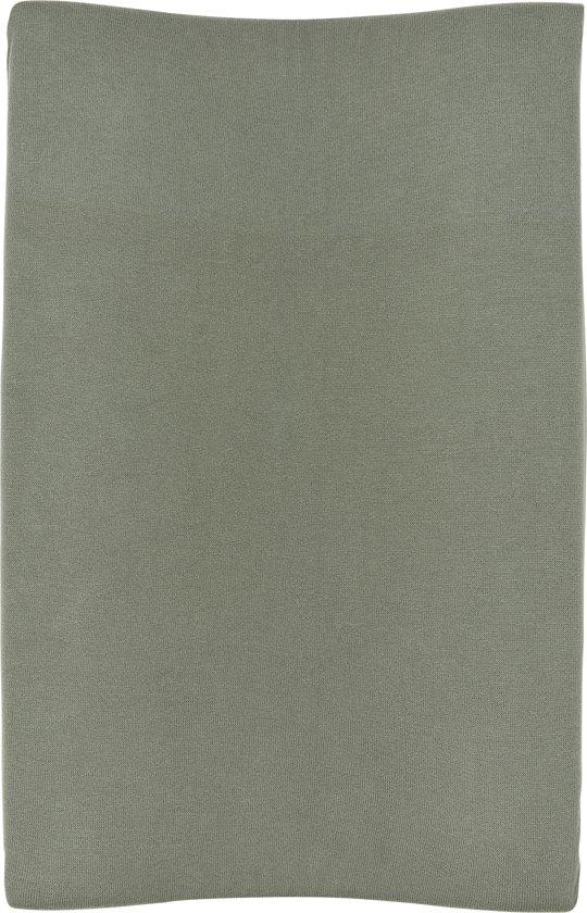 Meyco aankleedkussenhoes Knit basic - forest green