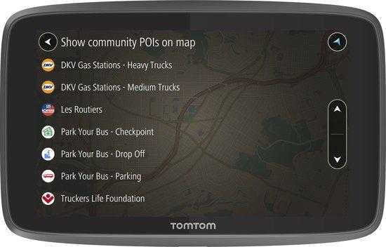 TomTom GO 6250 Trucker - Europa