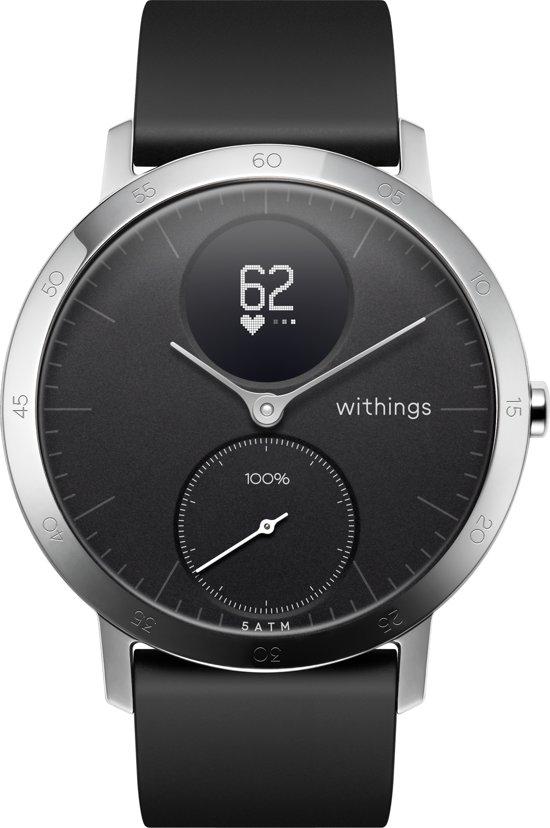 Nokia Steel HR - Smartwatch - Zwart - 40mm