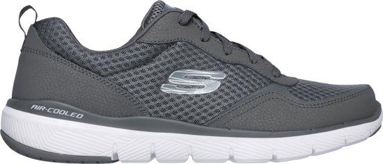 Heren Skechers Maat 47 Flex 0 Charcoal Sneakers 3 Advantage 5 4UTXxUqw