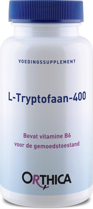 Orthica - L Tryptofaan 400 - 60 Capsules - Voedingssuplement