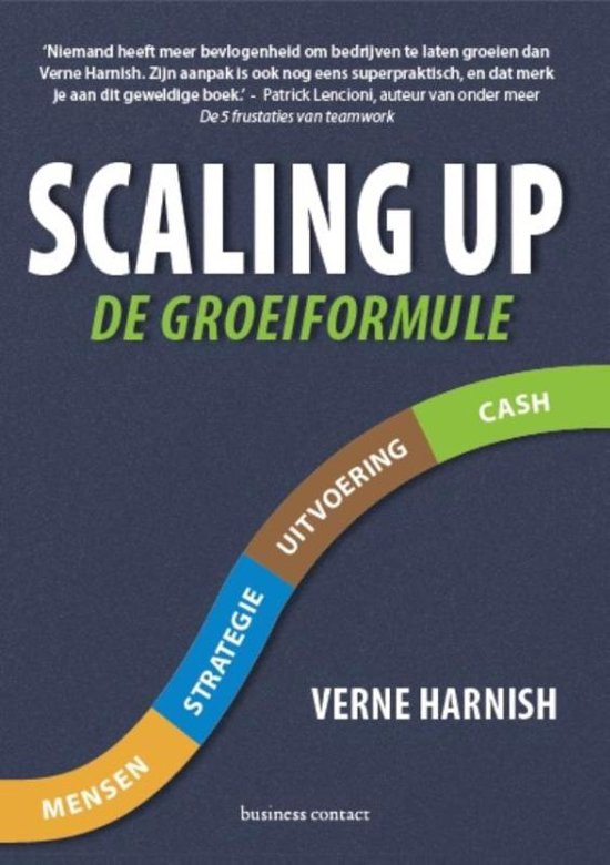 Boek cover Scaling up van Verne Harnish (Paperback)
