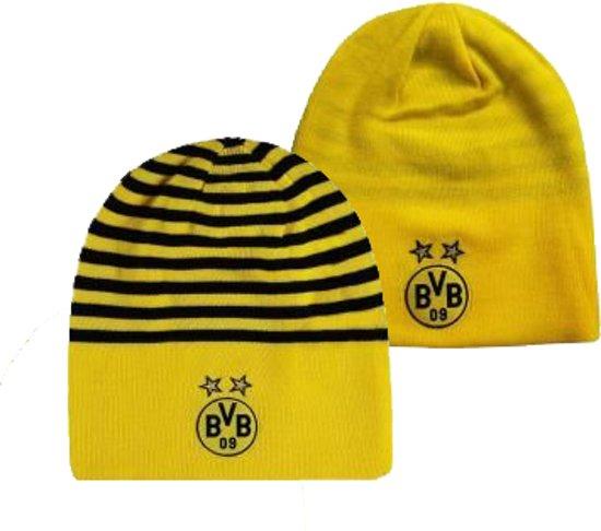 41a15823e36 Borussia Dortmund Puma Muts Volwassenen Reversible Geel Zwart
