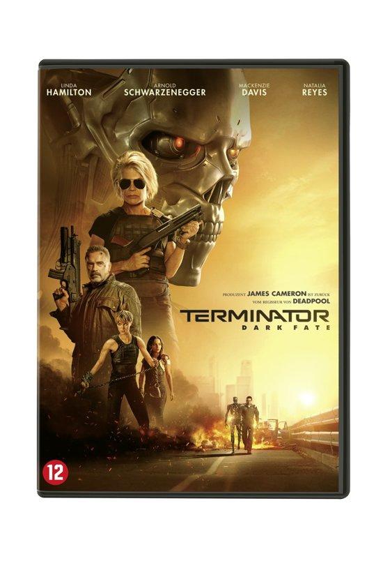 DVD cover van Terminator: Dark Fate
