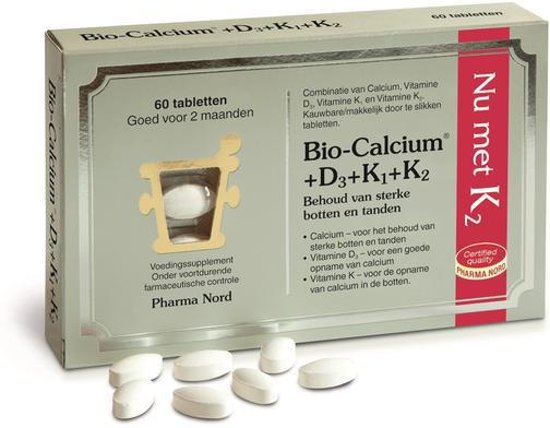 Pharma Nord - Bio Calcium + D3 + K1 +K2 - 60 Tabletten
