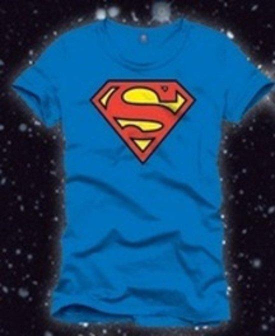 Superman - T-Shirt - Logo - L kopen