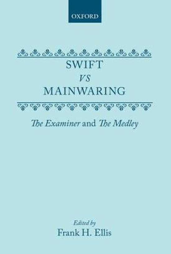 Swift vs. Mainwaring