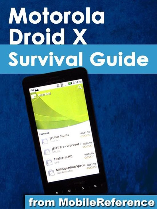 bol com motorola droid x survival guide mobi manuals ebook k rh bol com Droid X 2 Droid 3