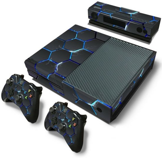 Hex Lightning - Xbox One Console Skins Stickers