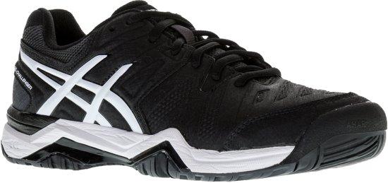 Asics Gel Challenger 10 Tennisschoenen Maat 48 Mannen zwartwit