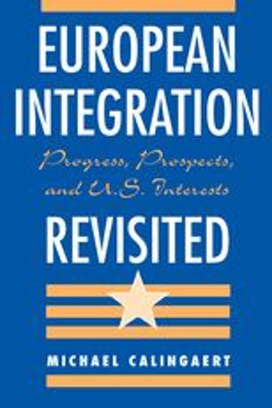 European Integration Revisited