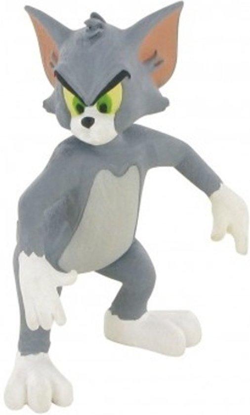 Afbeelding van Comansi Speelfiguur Tom & Jerry angry 6 Cm Grijs speelgoed