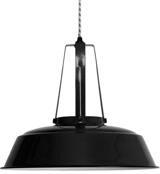 bol hkliving workshop l hanglamp zwart