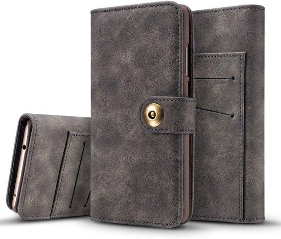 Knaldeals.com - Huawei Mate 9 2 in 1 Wallet Case - Uitneembaar Back Cover - grijs in Oostappen
