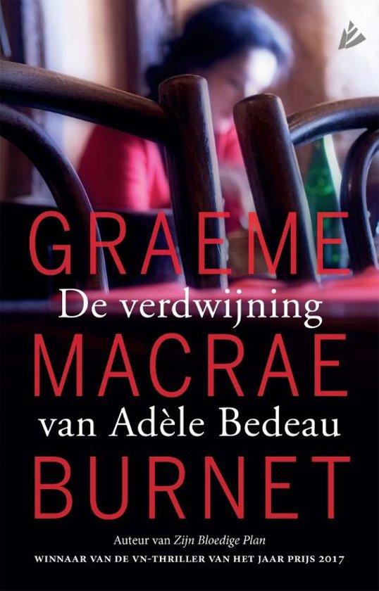 De verdwijning van Adèle Bèdeau