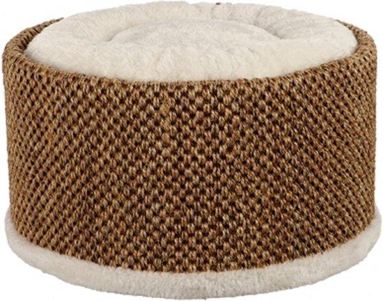 Trixie kattenmand relax-bed lio beige / bruin 38x38x20 cm