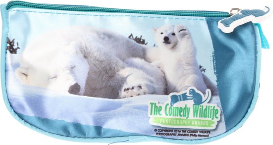 d1a43e91c38 bol.com | The Comedy Wildlife Etui 21 Cm Blauw Ijsbeer, The comedy ...