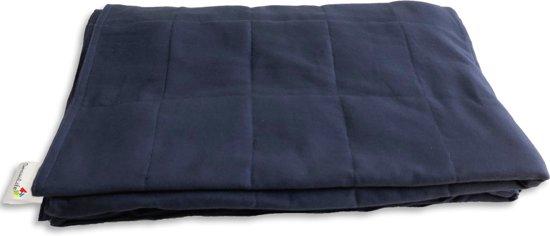 Verzwaringsdeken - Weighted Blanket - Beter slapen - SensoLife - Verzwaard deken 9 kg - 135 x 200 cm