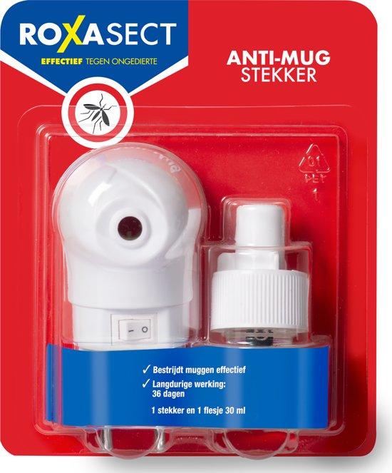 Roxasect Anti-Muggen Stekker- Prallethrin - 30ml