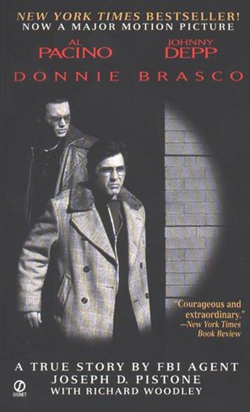 Boek cover Donnie Brasco van Joseph D. Pistone (Onbekend)