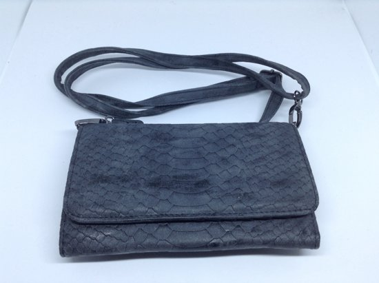 abdebebeb52 bol.com | Mooie portemonnee / tasje met telefoonvakje, zwart - Beagles