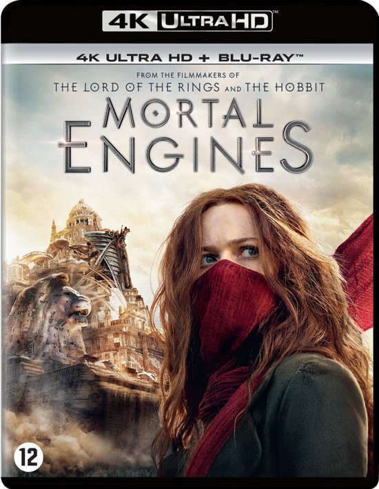 DVD cover van Mortal Engines (4K Ultra Hd Blu-ray)