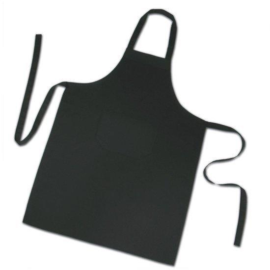 Homéé - Keukenschorten BBQ BIB Apron - Zwart 70x100 cm