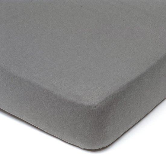 hoeslaken 180x200 cheap hoeslaken strijkvrij boxspring katoen x zilvergrijs with hoeslaken. Black Bedroom Furniture Sets. Home Design Ideas