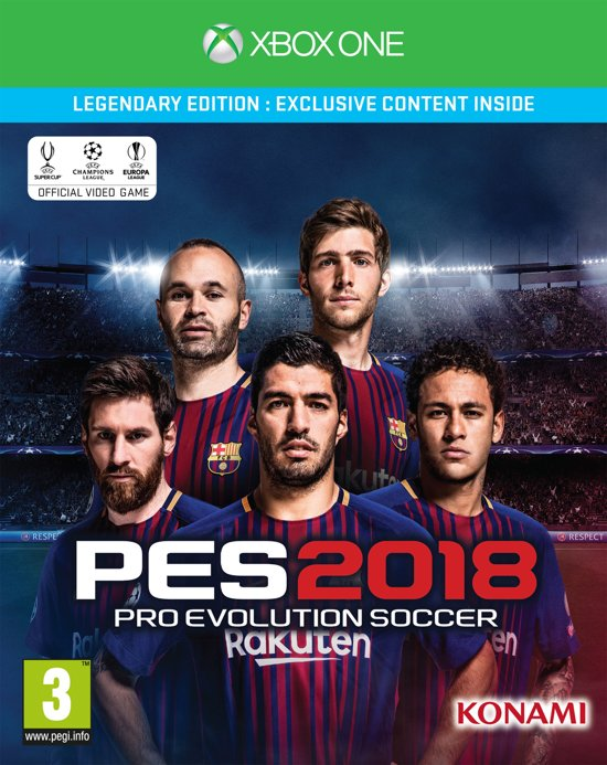Pro Evolution Soccer 2018 - Legendary Edition - Xbox One