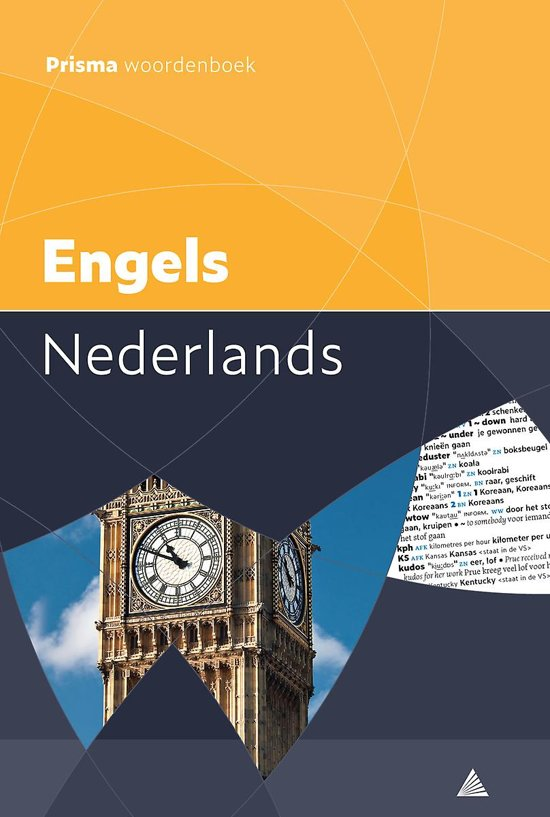 Boek cover Prisma woordenboek Engels-Nederlands van M.E. Pieterse-van Baars (Paperback)