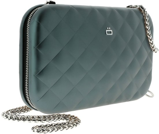 Ögon Designs Quilted Lady Bag Dames Clutch - Platinum