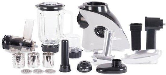 Overmax Home MultiDo - Snij- en raspapparaat-  Grijs