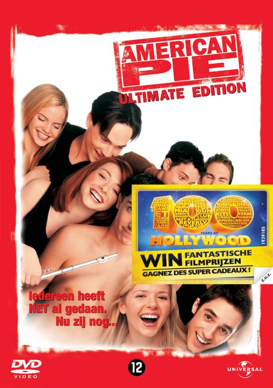 DVD cover van American Pie 1 (D)