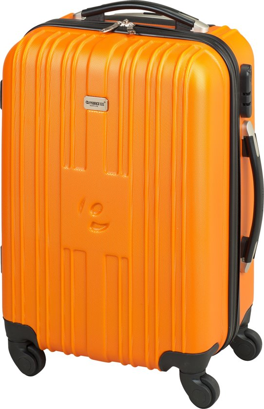 Princess Traveller Hawaii Handbagagekoffer - 55 cm - Oranje