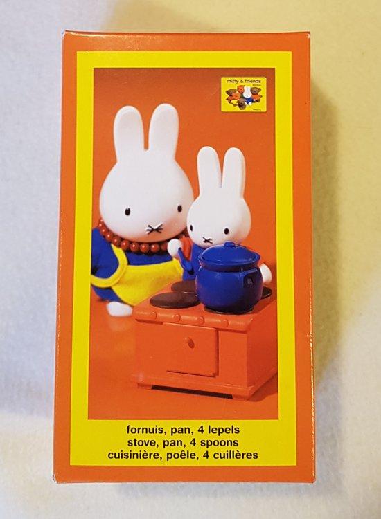 Nijntje Fornuis | Meubels voor Nijntje poppenhuis |
