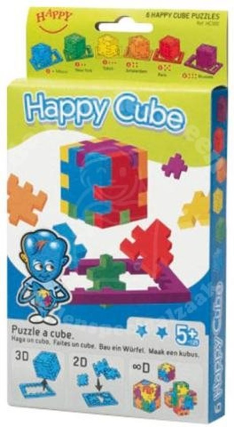 Spel Happy Cube 6-Pack