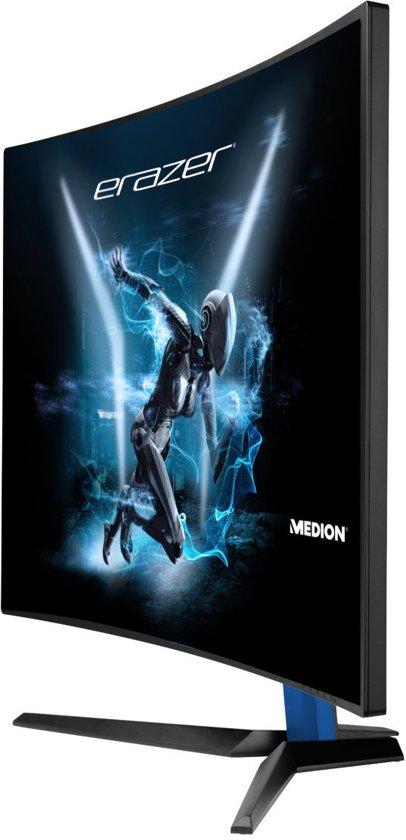 MEDION ERAZER X58426 31.5'' Full HD LCD Mat Gebogen Zwart computer monitor